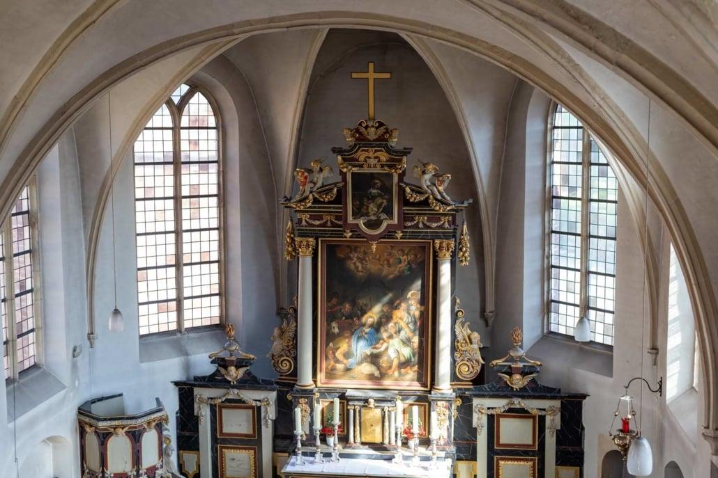 Altar und Schrein der Schlosskapelle