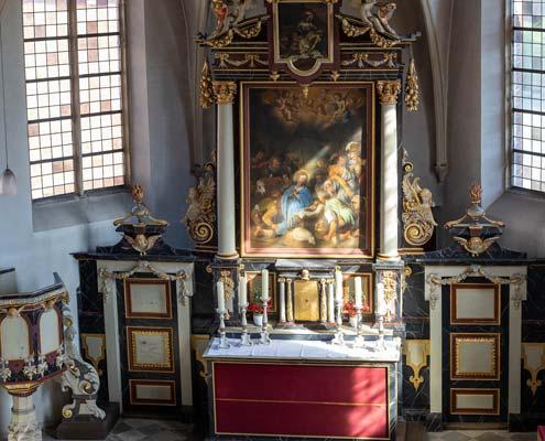 Schlosskapelle von innen